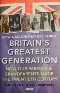 Britian's Greatest Generation