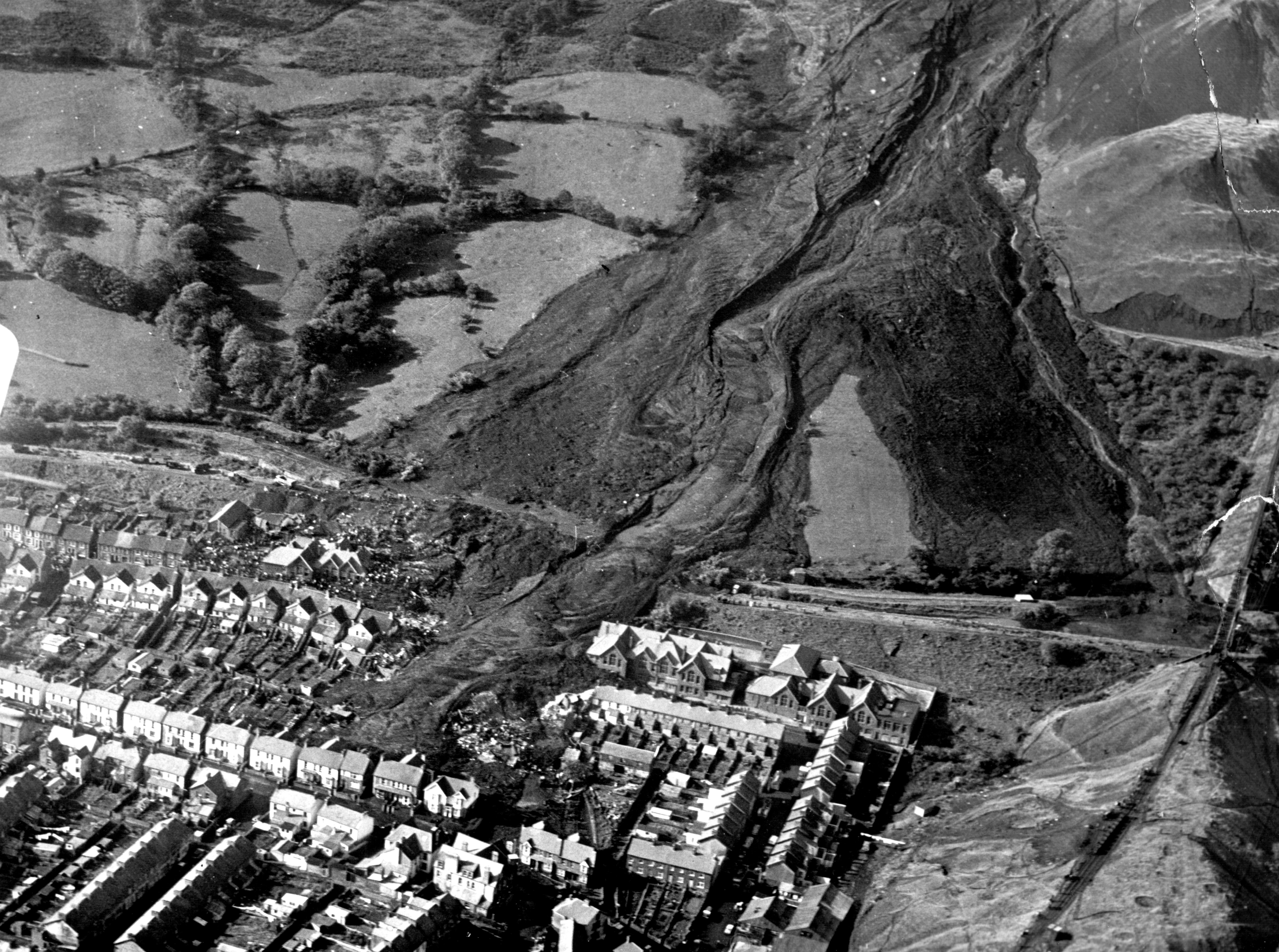 50 years ago a coal waste tip fell on a school in the Welsh mining village of Aberfan, killing 116 children.